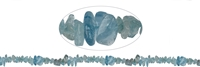 Strings splint, Aquamarine, 03-04 x 08-14mm