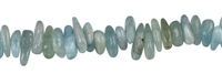 Strang Splitter, Aquamarin, 03-05 x 12-15mm