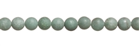 String Beads, Aventurine, matt, 08mm