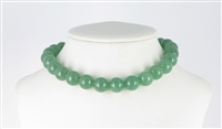 String Beads, Aventurine, 12mm