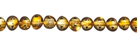 String Baroque, Amber, cognac medium, appr. 05 x 04mm