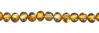 String Baroque, Amber, cognac medium, appr. 04 x 03mm