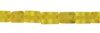 String Cylinder, Amber (yellow transparent), appr. 08 x 05mm