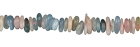 String Chips, Beryll (Aquamarine, Morganite), appr. 03-04 x 08-12mm