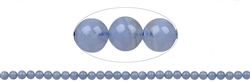 String Beads, Blue Lace Agate, 06mm