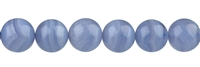 String Beads, Blue Lace Agate, 12mm