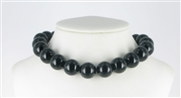 String Beads, Onyx (coloured), 16mm