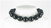String Beads, Onyx (coloured), 20mm