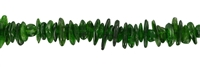 String Splint, Chromdiopside A, app. 02-03 x 03-10mm