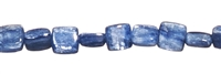 String Cuboid rounded, Kyanite (light), 06 x 06mm