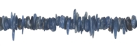 Strang Splitter, Disthen (blau), 03-04 x 08-12mm