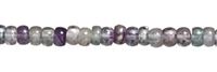 String button, Fluorite, 06mm
