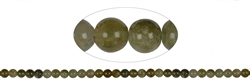 String Beads, Garnet green (Grossular), 06mm