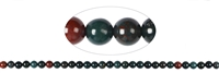 String Beads, Blood stone, 06mm