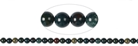 String Beads, Blood Stone, 08mm
