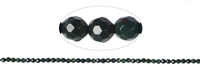 Strang facet. Kugeln Heliotrop 4mm