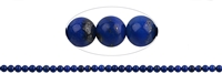String Beads, Lapis A, 05mm