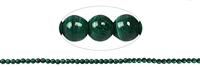 String Beads, Malachite (stab.), 03mm