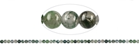 String Beads, Moss Agate extra, 04mm