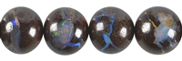String Beads, Boulder-Opal, 15 - 18mm, Single Piece Nr. 00