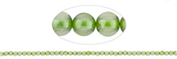 String Beads, Peridote, 02mm