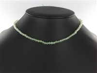 String Beads, Prehnite A, 4mm