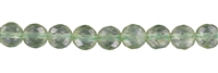 Sting Beads, Prenite A, faceted, 06mm