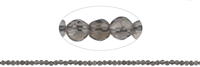 String Beads, Smoky Quartz, faceted, 02mm, 39cm