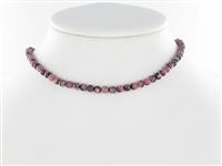 String Beads, Rhodonite, 04mm