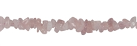 Strings Chips, Rose Quartz AA, 03-04 x 08-14mm