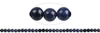String Beads, Sapphire, 06mm