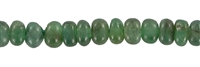 String Button, Emerald, 04mm