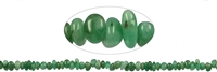 String Chips, Emerald, 02 - 04 x 05 - 10mm