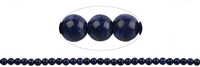 String Beads, Sodalite extra, 06mm