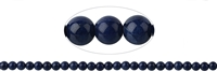 String Beads, Sodalite extra, 07-07,5mm