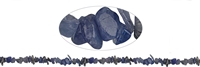String Chips, Tanzanite, 02-04 x 05-10mm (88cm)