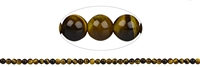 String Beads, Tiger's Eye, 04mm