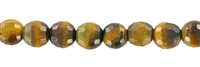 String Beads, Tiger's Eye, faceted, 03mm
