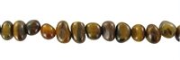 "String Nuggets ""Pebbles"", Tiger's Eye, 07 x 09-12mm"