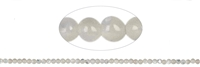 String beads, Mother of Pearl (light), 02mm