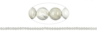 String Beads, Mother of Pearl, 03mm