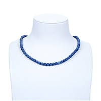 String Beads, Dumortierite, 06mm