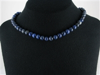 String Beads, Dumortierite, 08mm