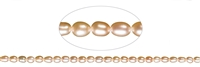 String Ricecorn, Freshwater Pearl A, salmon (natural), 06-07mm