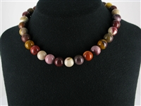 String Beads, Mookaite, 12mm