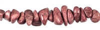 String Chips, Thulite, appr. 08 - 12mm