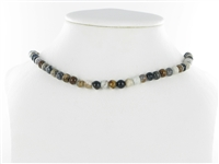 String Beads, Picasso Marble, 06mm