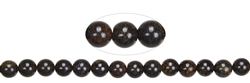 String Beads, Bronzite, 08mm