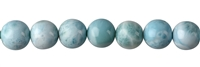 String Beads, Larimar AAA, 10mm, Single Piece Nr. 02