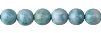 String Beads, Larimar AAA, 12mm, Single Piece Nr. 05